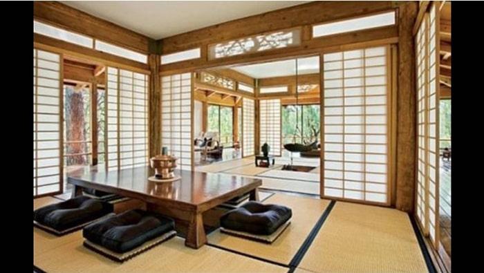 Cửa trượt Shoji là đặc trưng quan trọng của phong cách Nhật