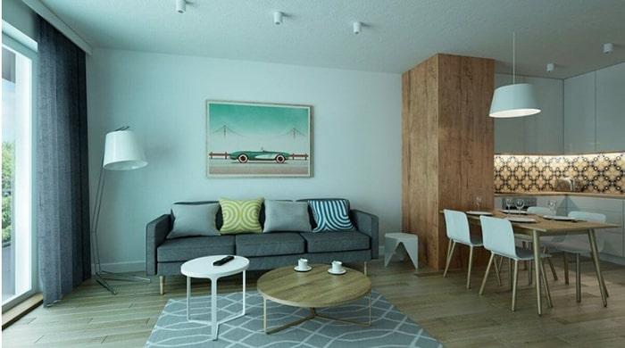 Sự tối giản trong nội thất làm nên nét tinh tế đặc trưng cho phong cách này