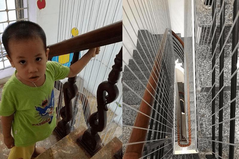 Giới thiệu chung về lưới an toàn cầu thang