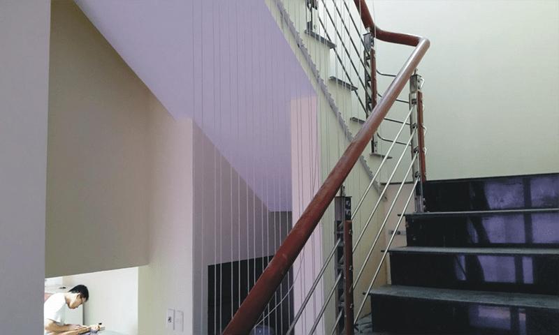 Những ưu điểm nổi bật của lưới chắn cầu thang