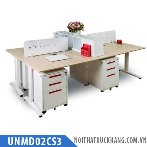 Cụm bàn làm việc 4 người UNMD02CS3