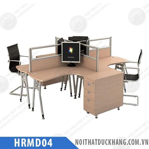 Module bàn làm việc 4 người HRMD04
