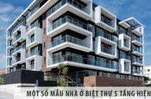 Một số mẫu nhà ở biệt thự 5 tầng hiện đại - Việt Architect Group